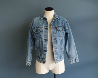 1980's Levi's Denim 4-Pocket Trucker Jacket