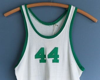 1940's Fab Knit Athletic Manufacturing Co. Jersey Tank Top