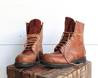 1960s Moc Toe Work Boots