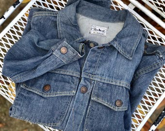 SML | ORIGINAL 1950's Madewell Denim Jacket Vintage Workwear