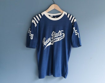 1980s PENN STATE Nittany Lions Sport Shirt Jersey