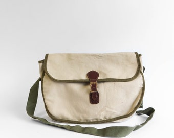 Vintage Canvas Orvis Fishing Tackle Bag
