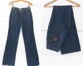 Chloe' Wide Leg Denim Jeans