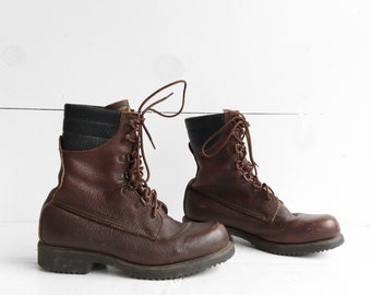 Red Wing Irish Setter Round Toe Insulated Work Boots