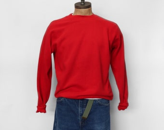 Red Pannill Raglan Sweatshirt size Extra Large