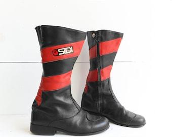 SiDi Motorcycle Boots Italian Moto Cross Boots