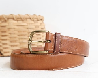 Ghurka Marley Hodgson Brown Leather Belt size 34