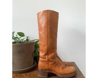Vintage Black Label Frye Campus Boots