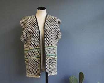 Vintage Blanket Vest