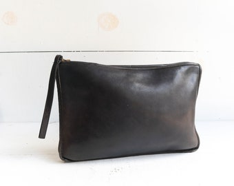 Vintage Coach Leatherware Clutch Made in New York 2127