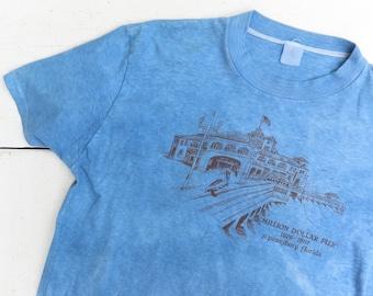 Indigo Dyed 1980's St. Petersburg, Florida Souvenir T Shirt
