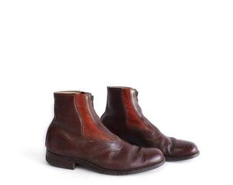 Vintage Kroop's Boot in Brown Leather