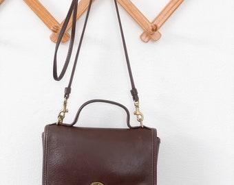 Vintage COACH 9224 Small Brown Crossbody Bag