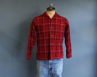 1950s Marlboro Sportswear 100% Virgin Wool Button Down
