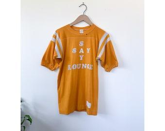 1980's Say Say Lounge Yellow T-Shirt