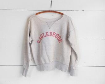 1950's Single V Stitch Thrashed Sweatshirt
