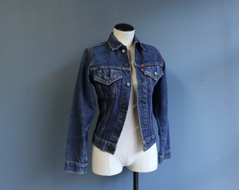 Late 1960's  Levis Big E Denim Trucker Jacket