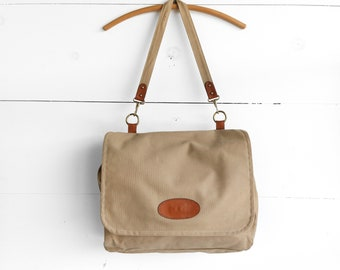 Canvas Postman's Bag by Davy's