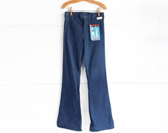 1970's Bell Bottoms Sport King Flare Jeans size 30 Long
