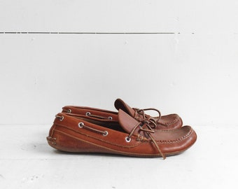Vintage LL Bean Leather Moccasins