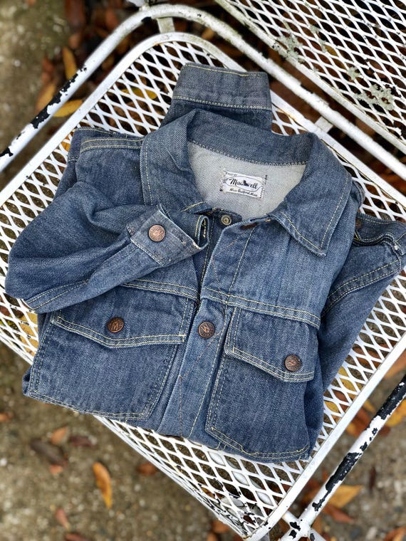 SML | ORIGINAL 1950's Madewell Denim Jacket Vintag