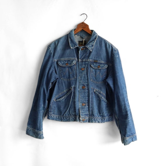 1970's Wrangler Selvedge Denim Jacket
