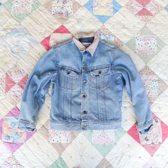 1970's LEE Storm Riders Embroidered Rodeo Denim J… - image 2