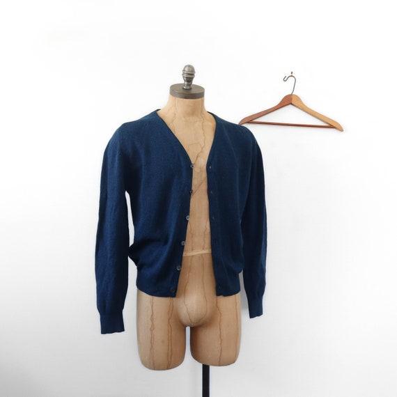 McGregor Dark Blue Cardigan Sweater
