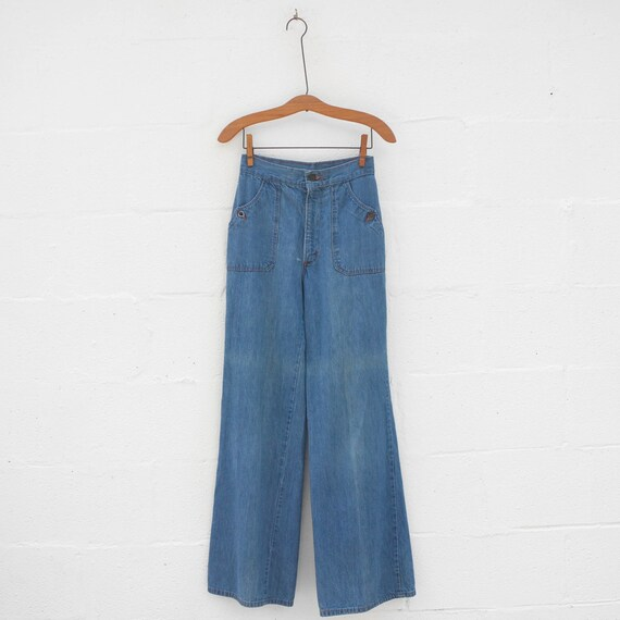 wide leg 1970/'s by Brooklyn Britches jeans high waist