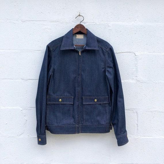 1960's Women's Dark Rinse Denim Jacket