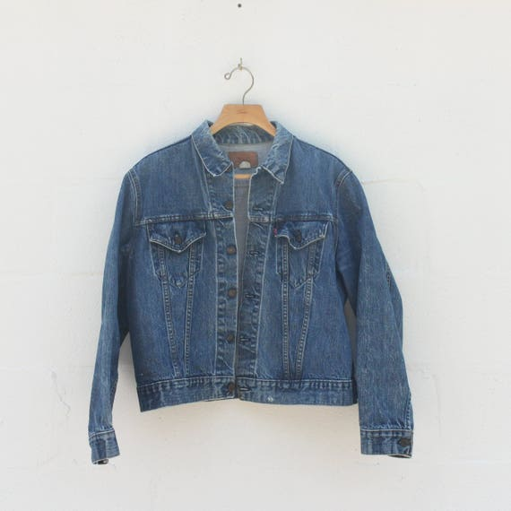 LRG | 1970's Levis Denim Jacket Classic Blue Denim