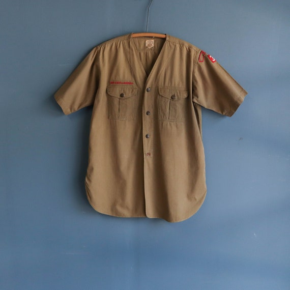 1940's Sweet Orr Boy Scout Shirt