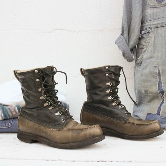 vintage red wing irish setter boots