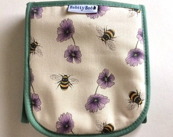Double oven gloves, Bee design, bee oven gloves