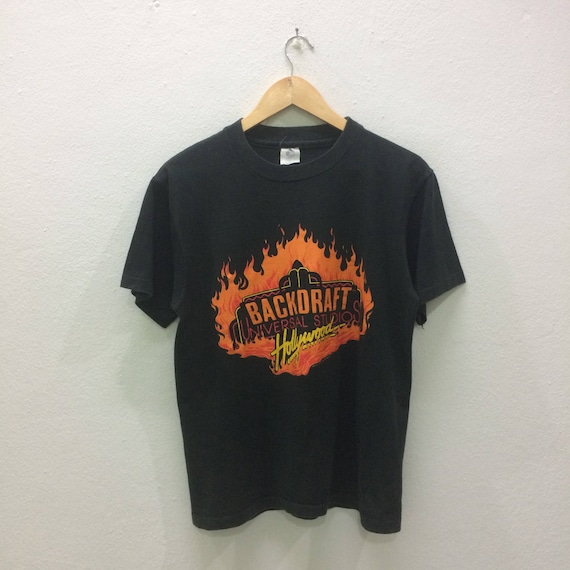 Vintage 90,s Backdraft Universal Studios Hollywood