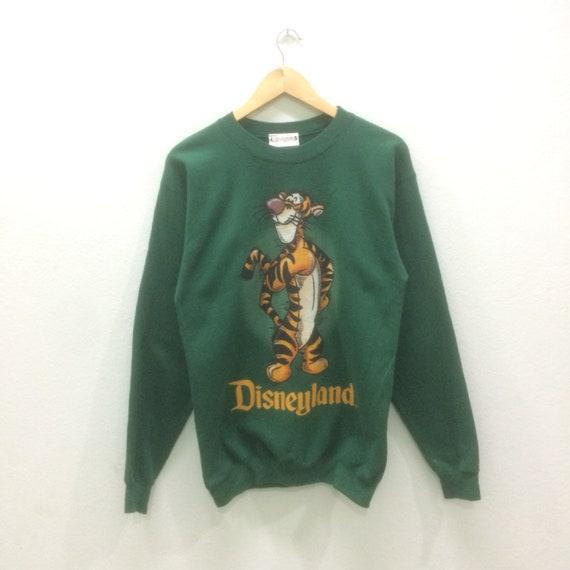 Vintage Disneyland Sweatshirts Big Logo Crewneck Pullover Small Size