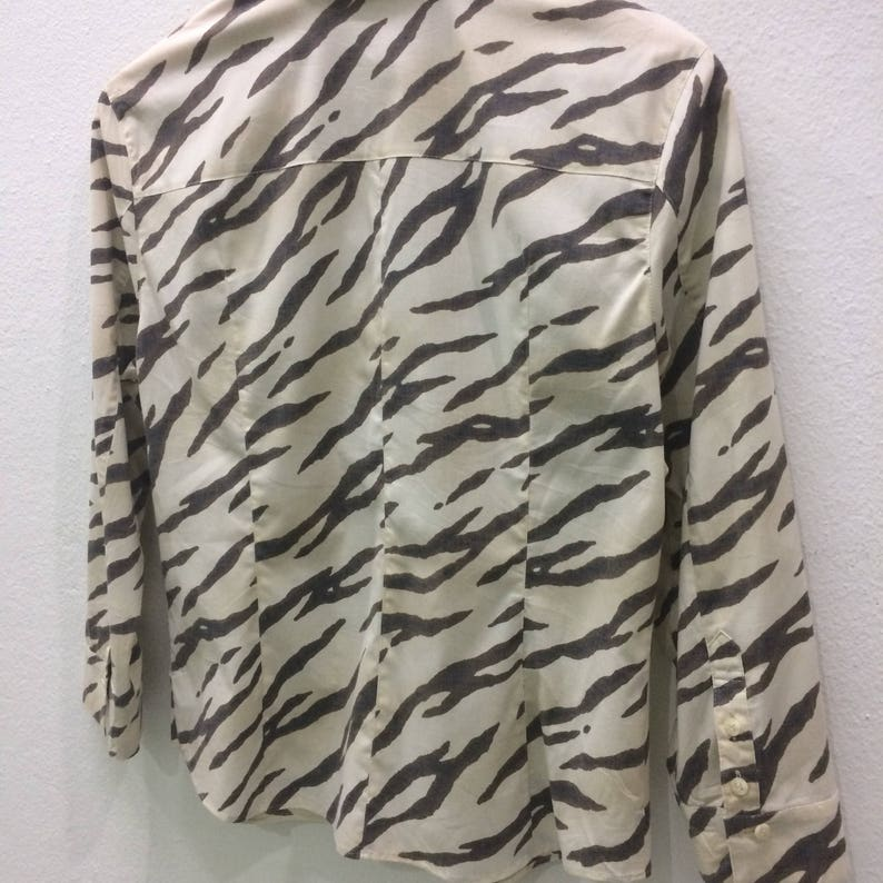 RARE! EVEX By KRIZIA Button Down Shirt For Women Nice Design