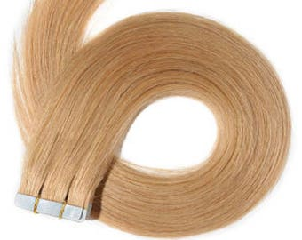Lexi Locks 22 Inch Tape in hair extensions 100% Human Remy Hair