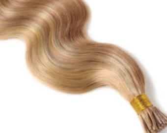 Lexi Locks 18 Inch Link Locks Hair Extensions 100% Human Remy Hair