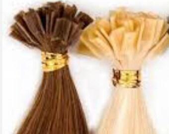 Lexi Locks 22 Inch Fusion Locks Hair Extensions 100% Human Remy Hair