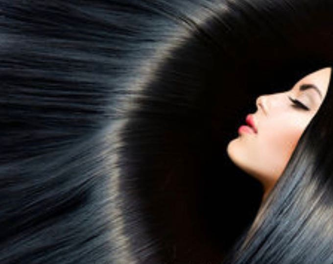 """I Tip Human Hair Extensions, 100% Human Remy Hair, 100 grams, 18"""", Blonde Brown Jet Black, Custom Color, Straight"""