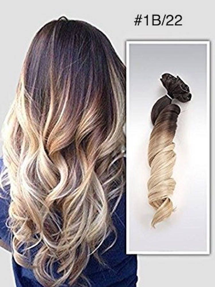 18 Clip In Hair Extensions Pure Human Remy Haircustom Color212