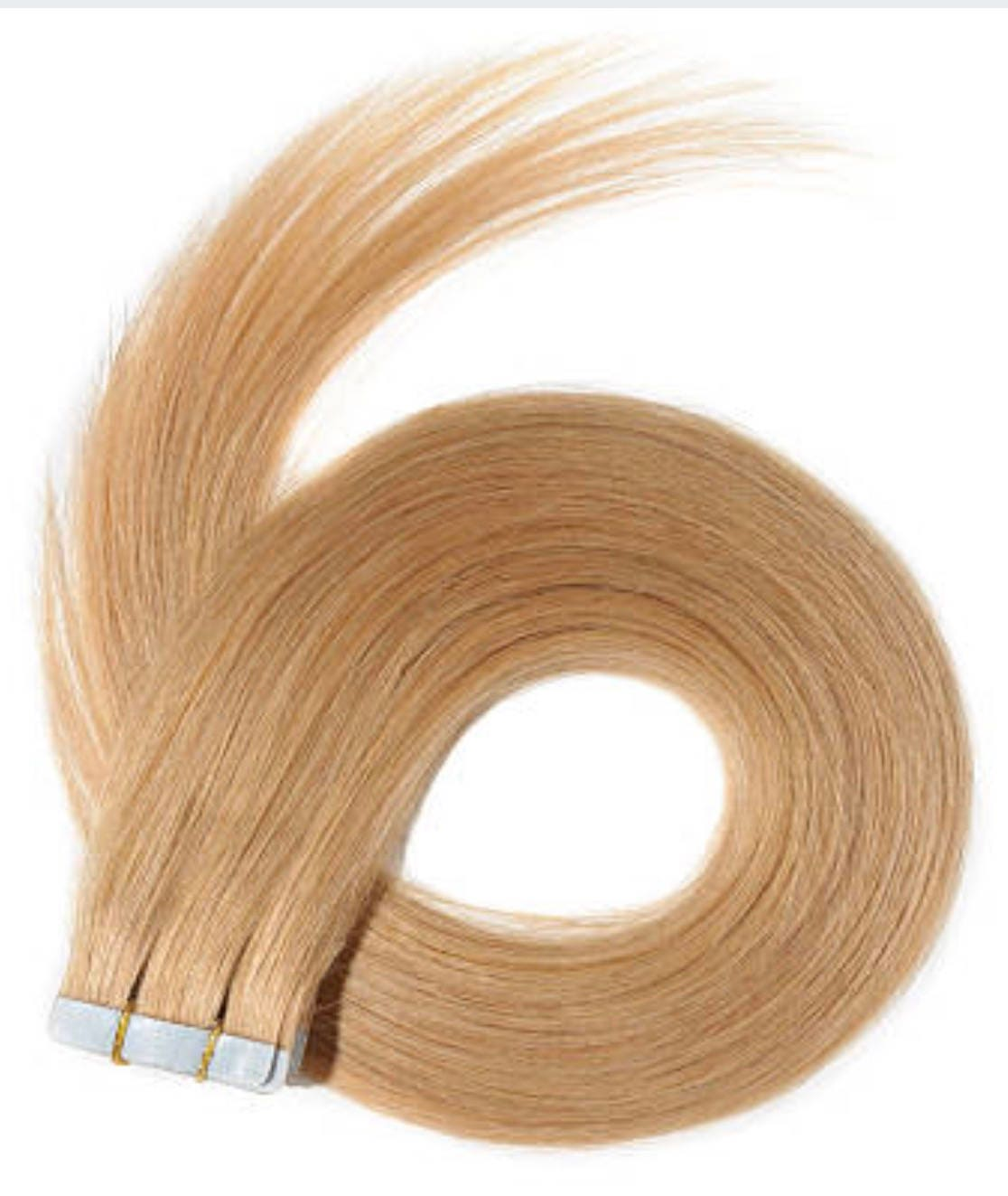 Lexi Locks 22 Inch Tape In Hair Extensions 100 Human Remy Hair