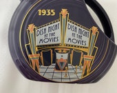 1935 Dish Night at the Movies Fiestaware Homer Laughlin Hlcca 2003 Small Disc Water Pitcher Collectors Association Original Box Fiesta