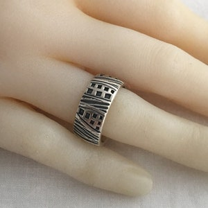 Couture Cat Artist Michelle Michel Mexico Big Kitty Cat 925 Sterling Silver Vintage