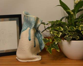 Porcelain Lace Jug/Vase