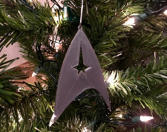 Star trek ornament | Etsy