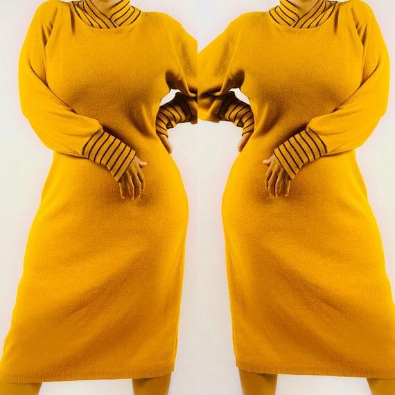 Vintage sweater dress size medium