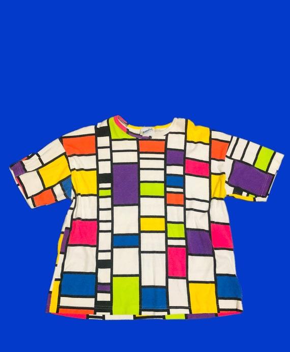 Colorful Mondrian T-shirt
