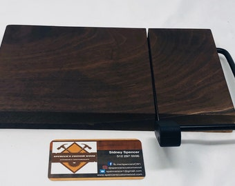 Luxurious One Of A Kind Handcrafted Face-Grain Walnut Cheeseboard 191014
